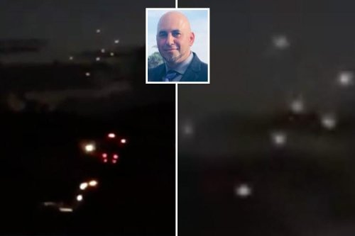 Eerie footage shows mysterious fleet of 10 UFOs circling in skies above Miami