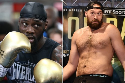 Deontay Wilder to deliberately target Tyson Fury's BELLY in Las Vegas trilogy