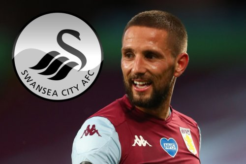 Villa ace Conor Hourihane set to join Swansea on loan with medical delayed