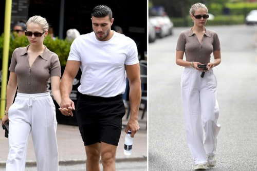 Molly Mae-Hague goes make-up free as she steps out for breakfast with Tommy Fury
