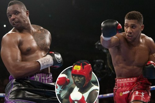 Boxers who fought as amateurs, then rematched as pros including AJ vs Whyte