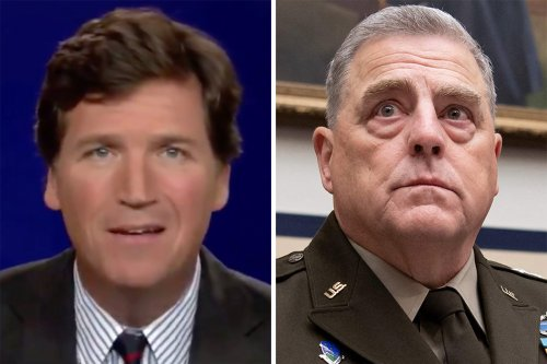 Tucker calls top US general a 'stupid pig' for backing critical race theory