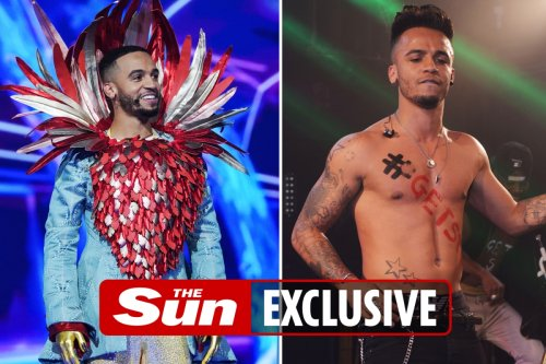 Aston Merrygold says weirdest part of Masked Singer was being forced to cover up