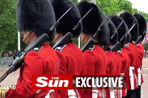 Coldstream Guardsman arrested after booting iron gates at Windsor Castle