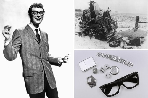 Harrowing images from plane crash that killed Buddy Holly 62 years ago