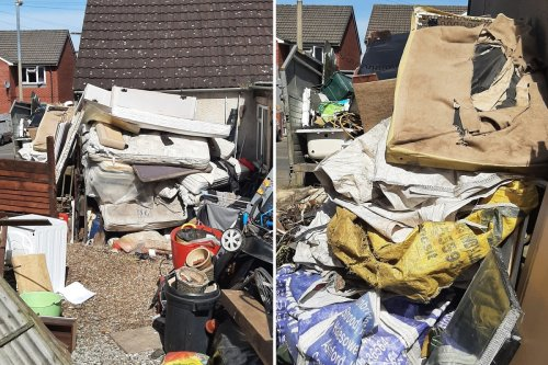 Gross 'rat-ridden waste mountain' horrifies locals with dad and son fined £2k