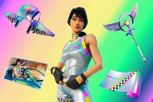How to unlock Fortnite Rainbow Racer fast