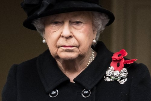 Queen will sit alone at Prince Philip's funeral after arriving in Bentley with Lady in Waiting to National Anthem