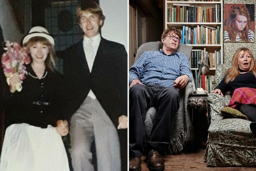 Inside Gogglebox's Giles & Mary's 30-year marriage & secret of their nicknames