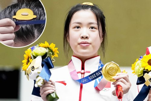 Tokyo 2020: Sales boom for Olympic shooting champ Yang Qian's 'lucky' hair clip