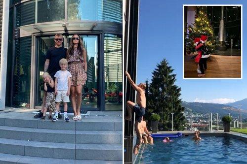 Inside Raikkonen's £20m Bond-villain like Swiss villa called 'Butterfly'