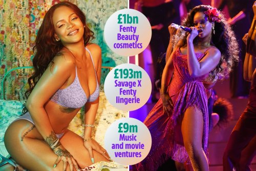 Rihanna now officially a BILLIONAIRE & named the wealthiest woman in music