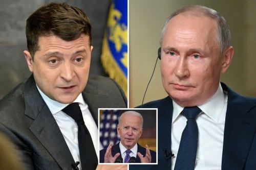 Ukraine enters Nato striking blow against arch enemy Putin