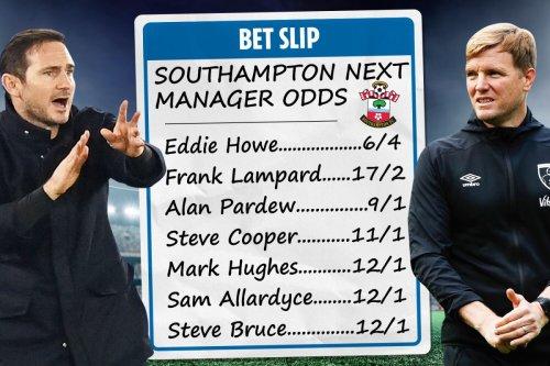 Southampton next manager odds - Eddie Howe favourite for Saints job