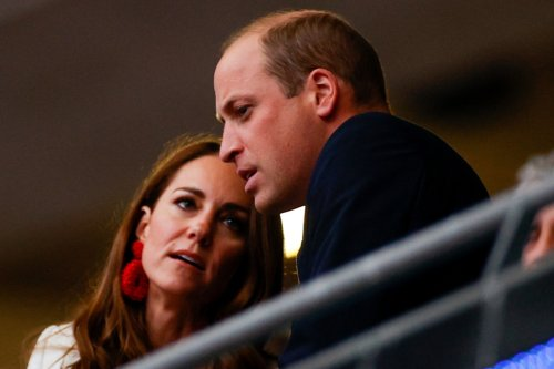 Prince William 'privately comforting' England players targeted with racist abuse