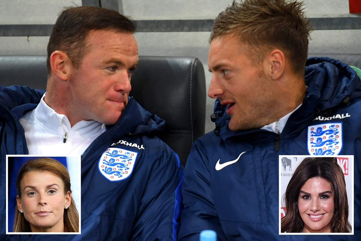 Rooney re-follows Vardy after Coleen and Rebekah's row - only to be snubbed