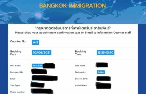 Another data breach: Info leaked on Bangkok Immigration website