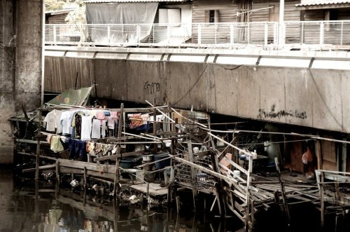 Covid outbreak in Bangkok's largest slum could be the nail in the coffin