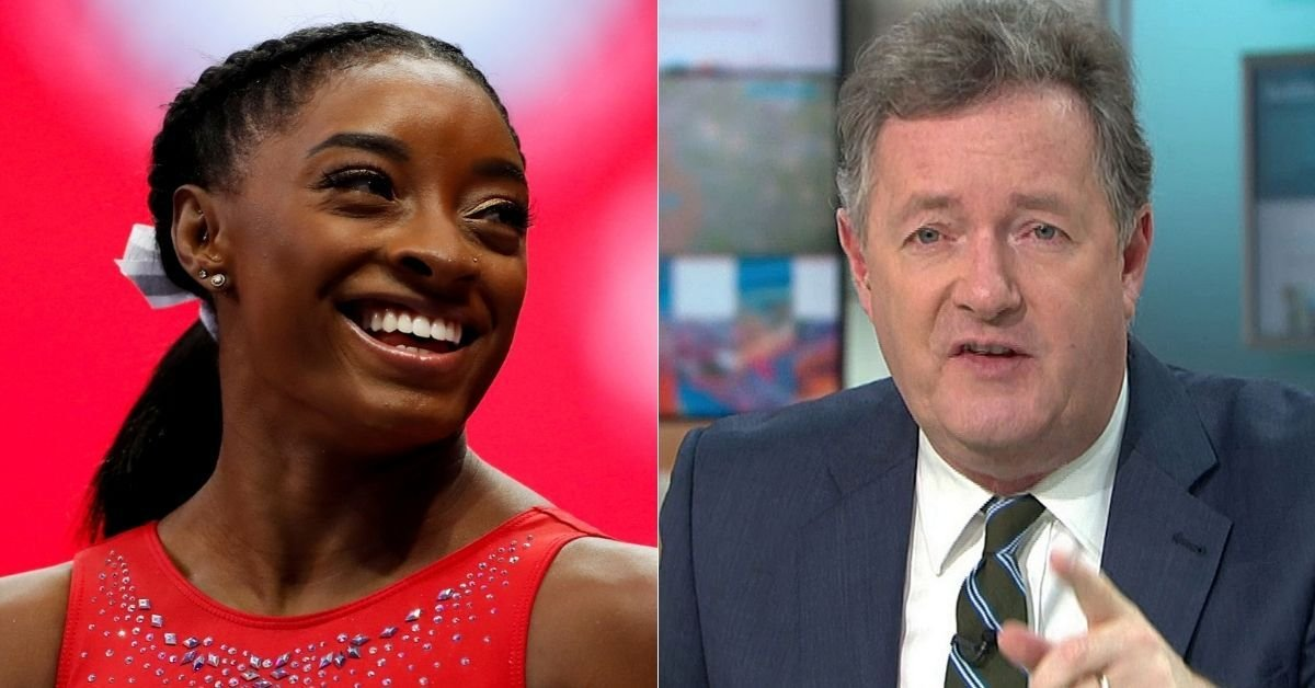 Piers Morgan Dragged After Blasting Simone Biles For Quitting Olympics
