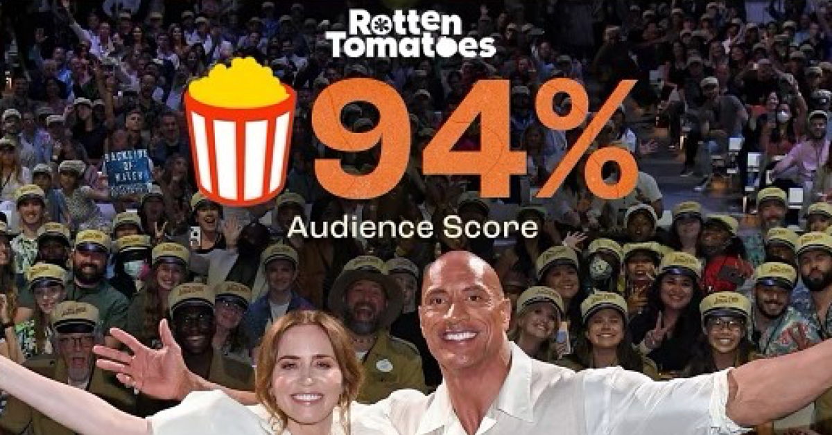 Twitter Fans Are Confused As Dwayne Johnson Shares His 'Rotten Tomatoes' Score For 'Jungle Cruise'