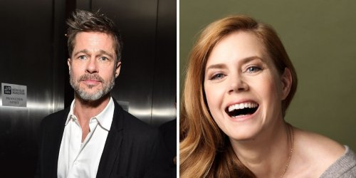Amy Adams Once Embarrassed Herself In Front Of Brad Pitt