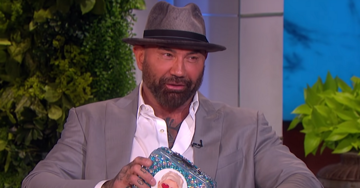Here's Why Ellen DeGeneres Gave Dave Bautista A Special Gift