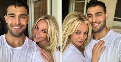 Britney Spears Dances In The Shower As She Wishes Boyfriend Sam Asghari A Happy Birthday