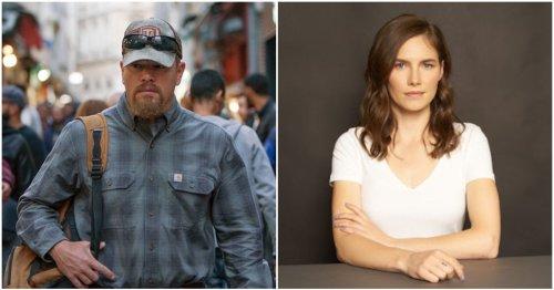 Matt Damon Addresses Amanda Knox's Claims That Film 'Stillwater' Is Profiting Off Her Life