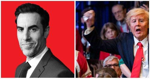 How Sacha Baron Cohen Crashed CPAC For 'Borat 2'