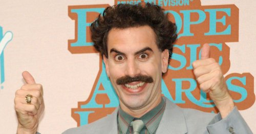 'Borat' Gives Jimmy Kimmel An Unofficial Coronavirus Physical Inspection