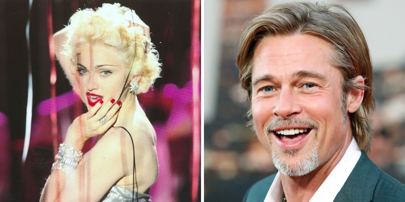 Madonna Once Shared A Surprising Dream Of Hers (About Brad Pitt)