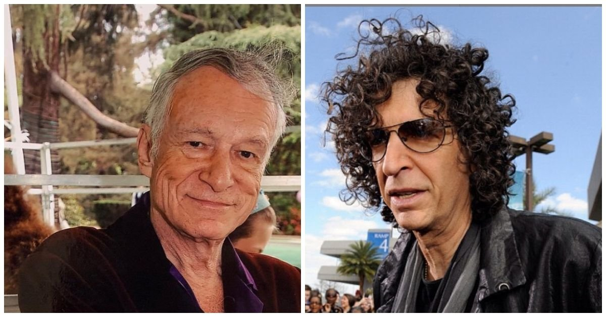 Hugh Hefner Blamed Howard Stern For A Feud With One Of His Playmates