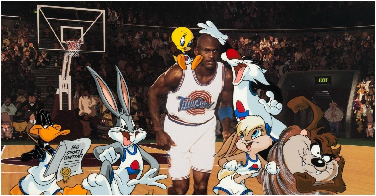 How A TV Commercial Inspired 'Space Jam'
