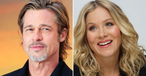 Why Christina Applegate Ditched Brad Pitt Mid-Date