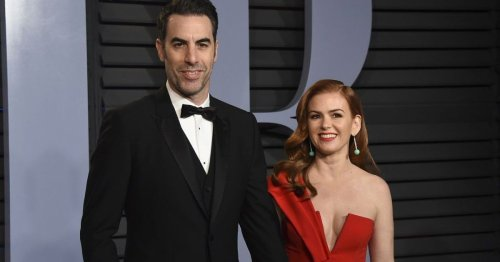 Here's How Sacha Baron Cohen And Isla Fisher Met