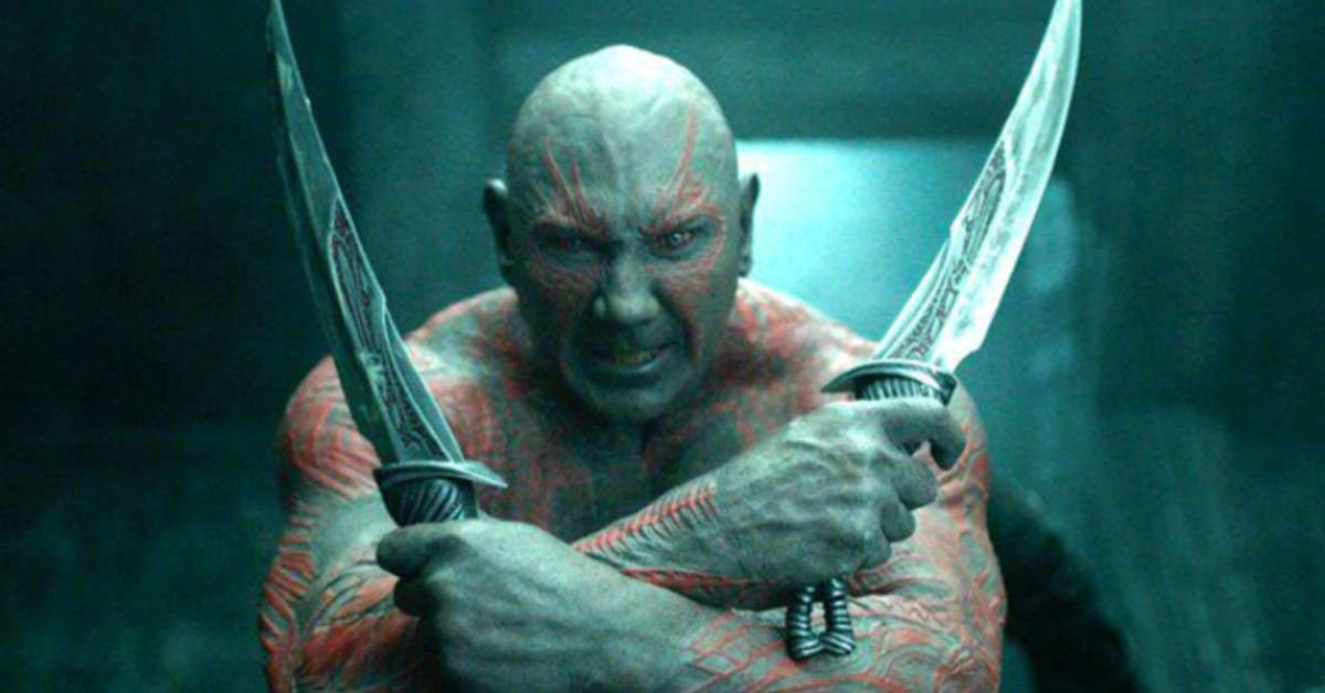 'MCU': Here's How Much Dave Bautista Gets Paid To Play Drax The Destroyer