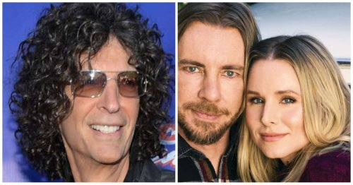 The Truth About Howard Stern's Relationship With Kristen Bell And Dax Shepard