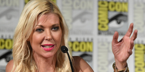 Tara Reid Promotes Her New Horror Movie 'Mummy Dearest' On Amazon