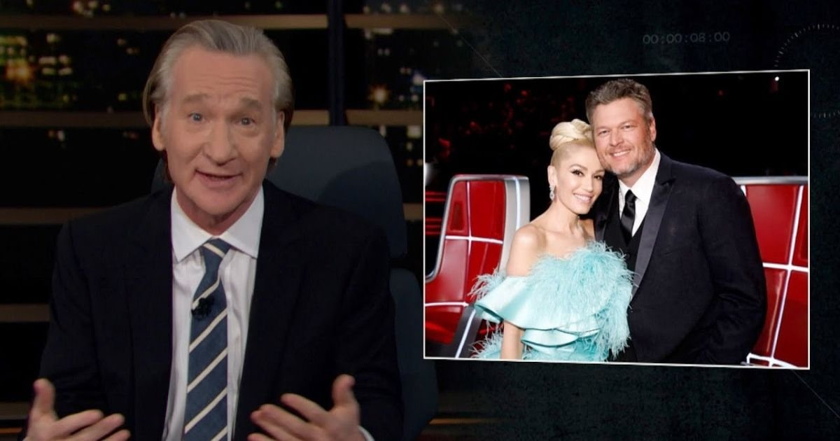 Bill Maher Asks America To Be More Like Gwen Stefani And Blake Shelton's Relationship