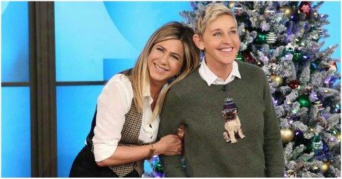 The Inside Story On Ellen DeGeneres And Jennifer Aniston's Sismance
