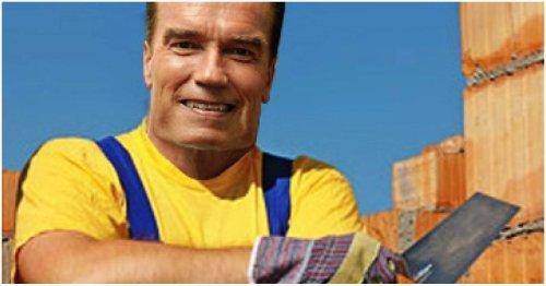 How Arnold Schwarzenegger Made A Million Dollars As A Bricklayer