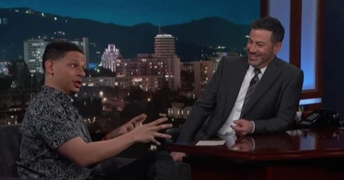 Eric Andre Proves There's Never A Dull Moment With Him In Jimmy Kimmel Appearance