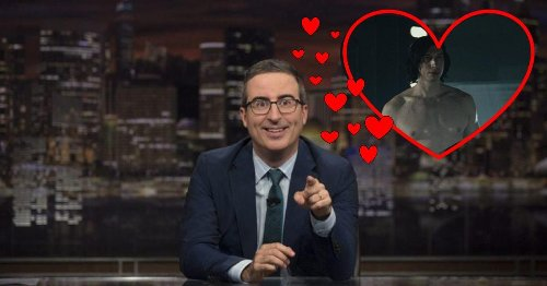 What's Going On Between Adam Driver And John Oliver?