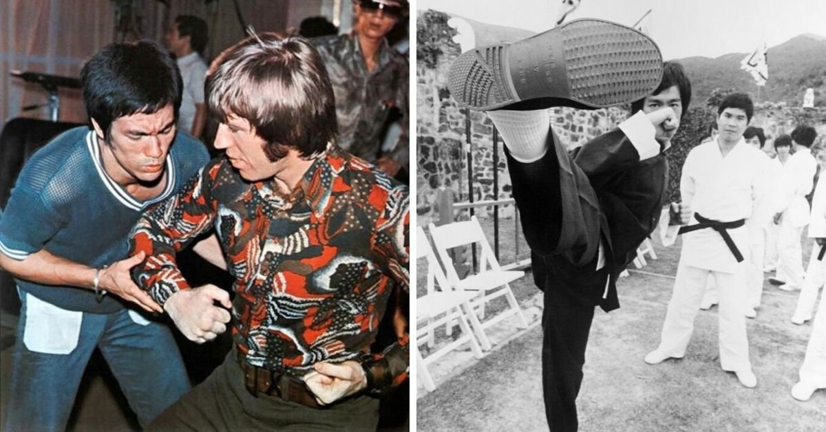 Bruce Lee's Legacy Captured In Rare Photos From The Set