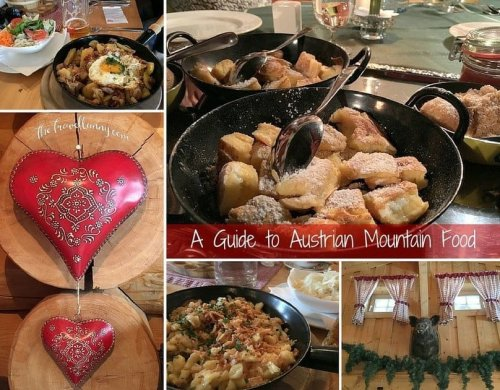 A Guide to Austrian Mountain Food - The Travelbunny