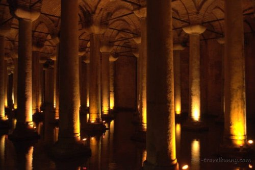 Going Underground in Istanbul - the Basilica Cistern