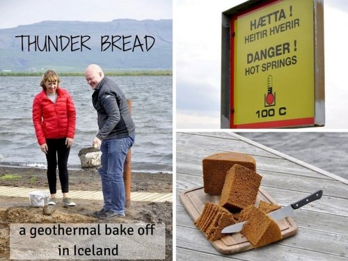 Thunder Bread Recipe - A Geothermal Bake Off in Iceland