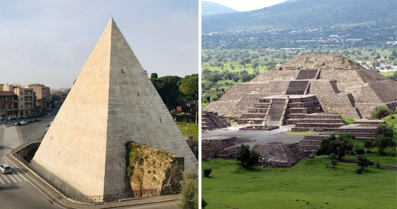 Egypt Isn't The Only Place Famous For Its Pyramids And These Are Just As Mesmerizing