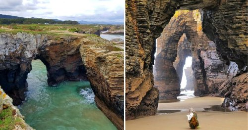 These Photos Of Cathedral Beach Make Us All Want To Go To Church
