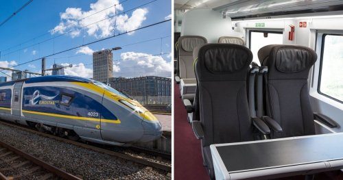 On Board The Eurostar: The Longest Underwater Train System In The World
